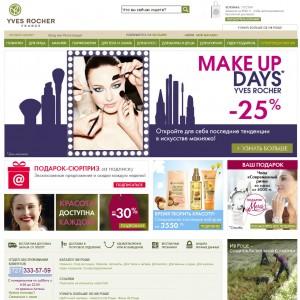 Интернет-магазин Yves-rocher-kz.com
